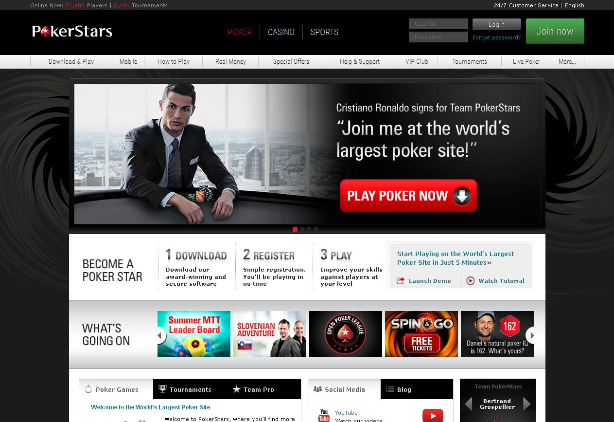 Pokerstars apostas desportivas